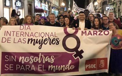 Por la Igualdad real de las mujeres: De 8 de marzo a 8 de marzo