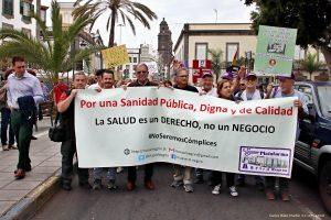 Manifestación por una Sanidad Pública de Calidad @ Plaza de Santa Ana   Las Palmas de Gran Canaria   Canarias   España