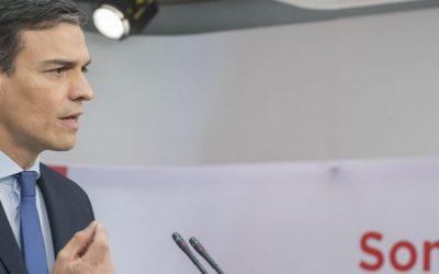 Declaraciones del Secretario General Federal, Pedro Sánchez, en relación a la Moción de Censura presentada por el PSOE contra el Gobierno del Partido Popular