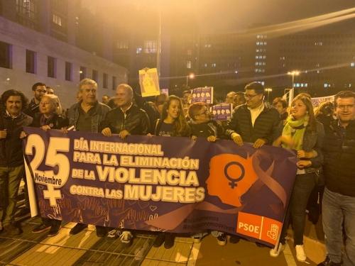 Manifestación Contra la Violencia de Género 25 Noviembre 2019