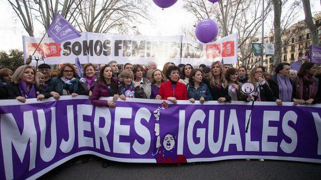 Día Internacional de las mujeres #GeneracionEsIgualdadEsPSOE